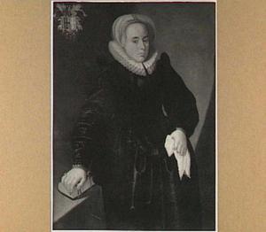 Portret van Margriette Toe Boecop, echtgenote van Otto van Haeften