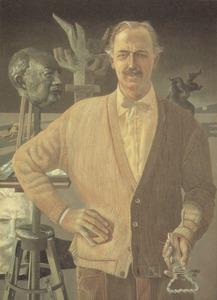 Portret van Engel Pieter de Monchy (1916- )