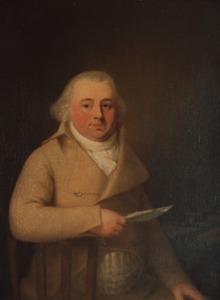 Portret van Abraham Bezelman (1748-1830)
