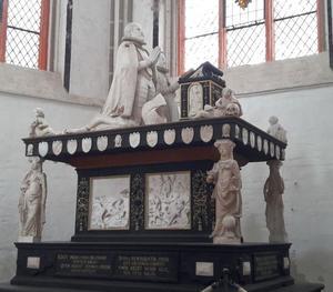 Tombe van hertog Christoph van Mecklenburg-Gadebusch en zijn vrouw Elisabeth van Zweden