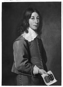 Portret van Bartholt van Douma (1627-1678)