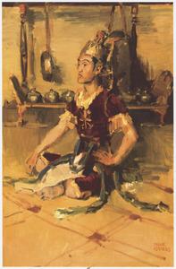 Javaanse danser: Raden Mas Jodjana