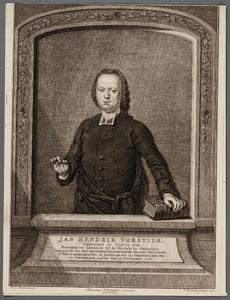 Portret van Jan Hendrik Vorstius (1740-1783)
