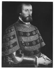 Portret van een ridder