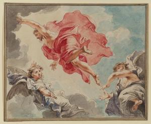 De hemelvaart van Christus (Evangelie volgens Lucas 24: 50-53)