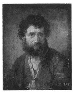 Studie van een man met baard