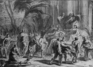 Intocht van Jezus in Jerusalem (Matteüs 21:1-11, 21:14-16; Marcus 11:1-11; Lucas 19:28-40; Johannes 12:12-19)
