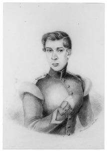 Portret van een man, waarschijnlijk Hermanus Gerbade Bouwens van Horssen (1817-1873)