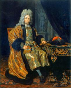 Portret van admiraal François Le Fort  (1655/1656-1699)