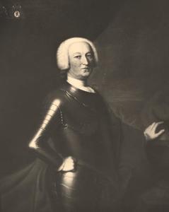 Portret van Fecco Dominicus van Sytzama (1693-1755)