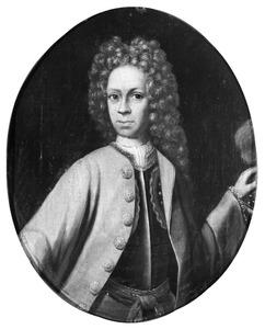 Portret van een jongen, mogelijk Reijnhard Burchard Rutger des HR Rijksgraafvan Rechteren (1702-1780)
