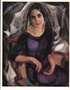 Portret van mevrouw V.