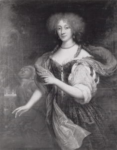 Portret van Eleonora Sophia Bentinck ( -1710)
