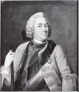 Portret van stadhouder Prins Willem IV van Oranje- Nassau (1711-1751)