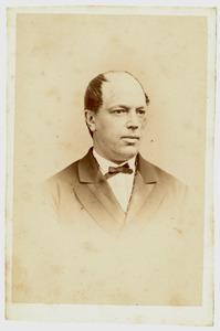 Portret van Lodewijk Antoon Aloisius van Wensen (1825-1889)