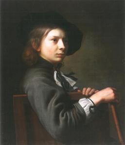 Portret van een jongen, vermoedelijk Andries Vaillant (1655-1693)