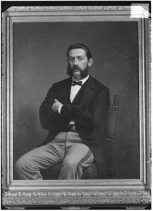 Portret van Johan Jacob le Fevre de Montigny (1840-1881)