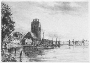 Zomerdag op de rivier, Dordrecht