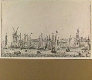 Amsterdam, intocht van Amalia van Solms in 1655
