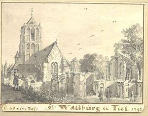 Tiel, de St. Wallburgkerk
