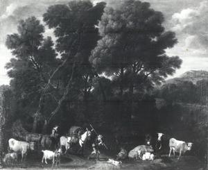 Landschap met kudde