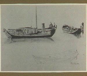 Drie studies van boten