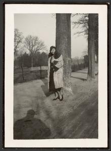 Mej. W.B., model van Toon Kelder voor zijn naakten uit 1931 en 1932