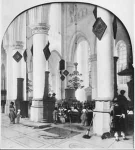 Gezicht in de Sint Bavokerk te Haarlem