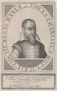 Portret van Jonas Charisius (1571-1619)