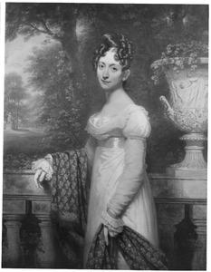 Portret van Johanna Philippina Frederica Carolina Constantia von Knobelsdorff (1796-1852)