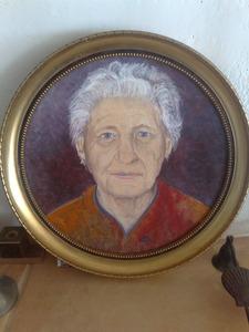 Portret van Cornelia Roels (1924-2009)