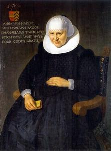 Portret van Anna van Haerst