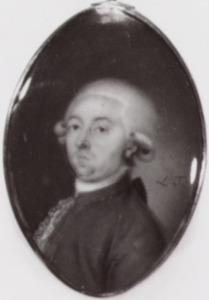 Portret van Roedolph van Olden (1752-1828)