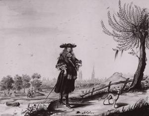 Portret van Moses ter Borch (1645-1667)