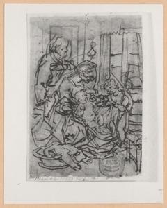 H. Familie met het kind Johannes de Doper