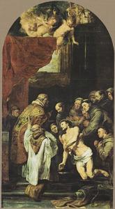 De H. Franciscus van Assisi ontvangt de laatste communie