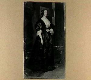 Portret van Mary Fielding (1613-1638), markiezin van Hamilton