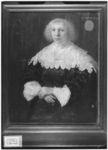 Portret van Catharina van Utenhove (....-1656)