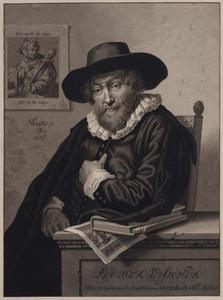 Portret van Roemer Visscher (1547-1620)