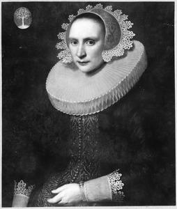 Portret van Maria Prins (1587-1667)