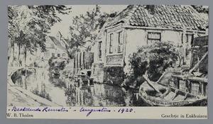 Grachtje in Enkhuizen