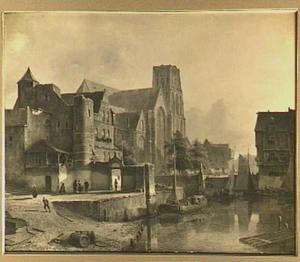 Gezicht in Dordrecht