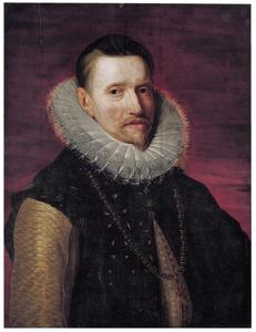 Portret van Albrecht von Habsburg, aartshertog van Oostenrijk (1559-1621)