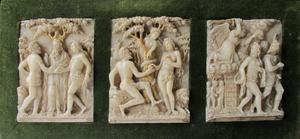 God zegent Adam en Eva/Instelling van het huwelijk, Zondeval (Genesis 3: 1-7), Verdrijving van Adam en Eva uit het paradijs (Genesis 3: 22-24)