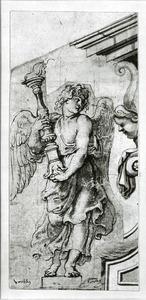 Toortsdragende engel