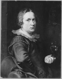 Portret van Anthonie Palamedesz. (1601-1673)