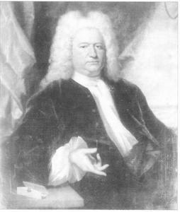 Portret van Ewout van Dishoeck (1678-1744)