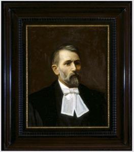 Portret van H.W. (Hendrik Willem) Bakhuis Roozeboom (1854-1907)