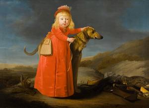 Portret van een jongen, mogelijk Jacob IV van Wassenaer Obdam (1645-1714)