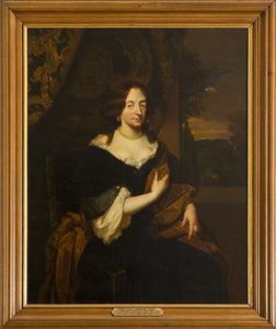 Portret van Amadea Isabella van Flodorff ( -1691)